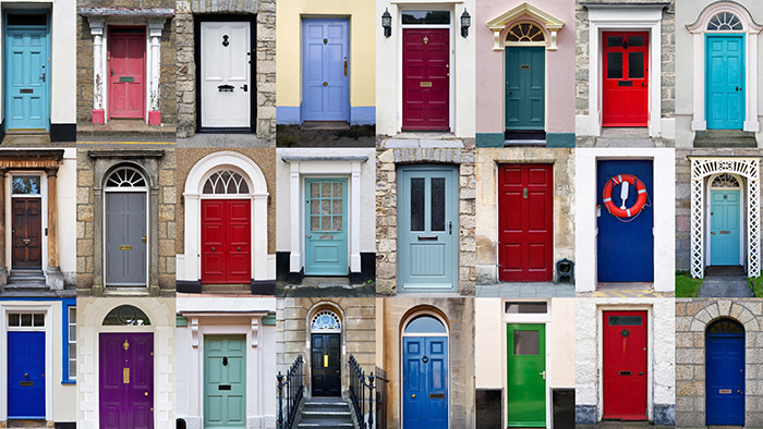 But What Do The Different Colours Mean? Front Door Colours