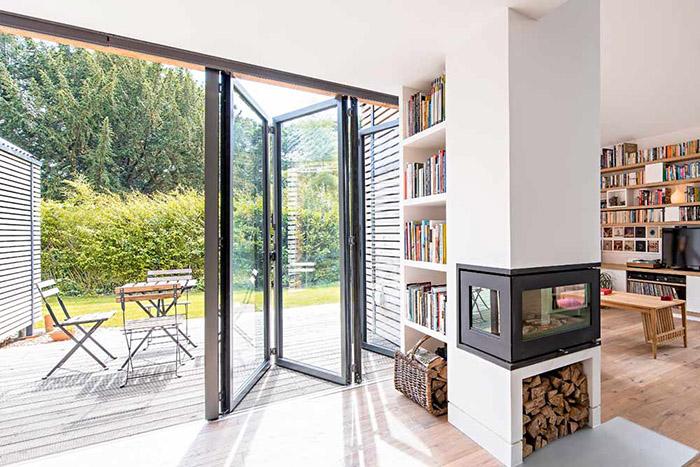 bi fold doors interiors